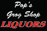 POP'S GROG SHOP logo