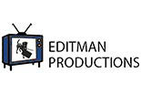 EDITMAN PRODUCTIONS logo