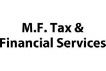 M.F. TAX AND FINANCIAL SERVICES logo