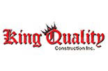 KING QUALITY CONSTRUCTION logo