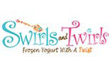 SWIRLS AND TWIRLS logo