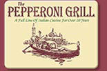 THE PEPPERONI GRILL PIZZERIA & RESTAURANT logo