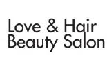 LOVE & HAIR BEAUTY SALON logo