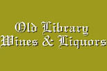 OLD LIBRARY WINES & LIQUORS logo