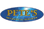 PETE'S MECHANICAL SERVICES logo