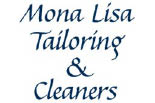 MONA LISA TAILORING & CLEANING logo