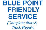 BLUE POINT FRIENDLY SERVICE logo