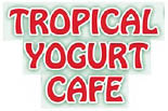 TROPICAL YOGURT CAFE logo