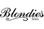 BLONDIE'S HAIR SALON logo