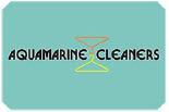AQUAMARINE CLEANERS logo