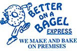 BETTER ON A BAGEL EXPRESS logo