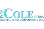 DW COLE HEATING & AIR CONDITIONING logo
