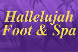 HALLELUJAH FOOT & SPA logo