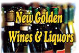 NEW GOLDEN WINES & LIQUORS logo