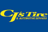 CJ'S TIRE logo