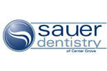SAUER DENTISTRY OF CENTER GROVE logo