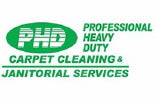 PHD CARPET CLEANING & JANITORIAL SERVICES logo