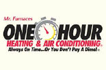 Mr. Furnace's One Hour Heating & Air logo