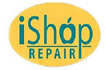 I SHOP, THE logo