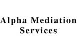 ALPHA MEDIATION SERVICES logo