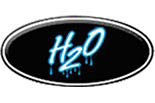 H20 HAND CAR WASH logo