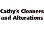 CATHY'S CLEANERS logo