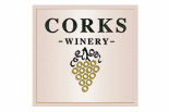 CORKS WINERY logo