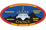 One Clear Choice Garage Doors logo