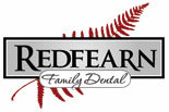 REDFEARN FAMILY DENTAL logo