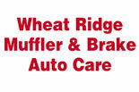 WHEAT RIDGE MUFFLER & BRAKE AUTO CARE logo