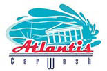ATLANTIS CAR WASH logo