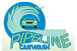 Pipeline Car Wash logo