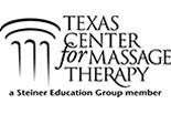 TEXAS CENTER, MASSAGE THERAPY logo