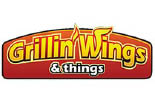 Grillin' Wings logo
