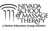 NEVADA SCHOOL OF MASSAGE THERAPY logo