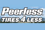 PEERLESS TIRES 4 LESS logo