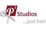 P2 Studios...Just Hair logo