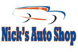 Nick's Auto Shop logo