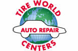 TIRE WORLD AUTO REPAIR logo