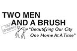 Two Men & A Brush logo