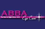 ABBA EYE CARE logo