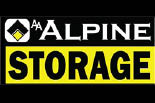 AA ALPINE STORAGE logo