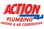 ACTION PLUMBING, HEATING & AIR logo