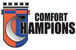 COMFORT CHAMPIONS HEATING & AIR CONDITIONING logo