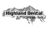 HIGHLAND DENTAL logo