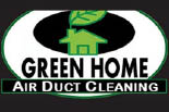 GREEN HOME AIR DUCT CLEANING logo