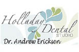 HOLLADAY DENTAL CENTER logo