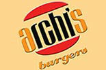 ARCHIS BURGERS SALT LAKE CITY logo