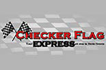 CHECKER FLAG LEHI logo