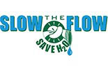 SLOW THE FLOW SAVE H20 logo